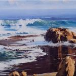 Seascape - Great Ocean Victoria  -  90 x 60 - Copyright John Wilson