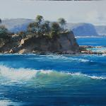 Denman's Beach South Coast 60cm X 30cm   $2900   Sold